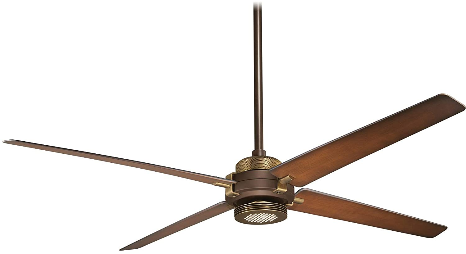Minka-Aire F726-ORB AB, Spectre Oil-Rubbed Bronze 60 Ceiling Fan w Light Remote Control