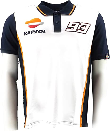 Marc Marquez 93 Honda Repsol Moto GP Polo camiseta oficial 2015 ...