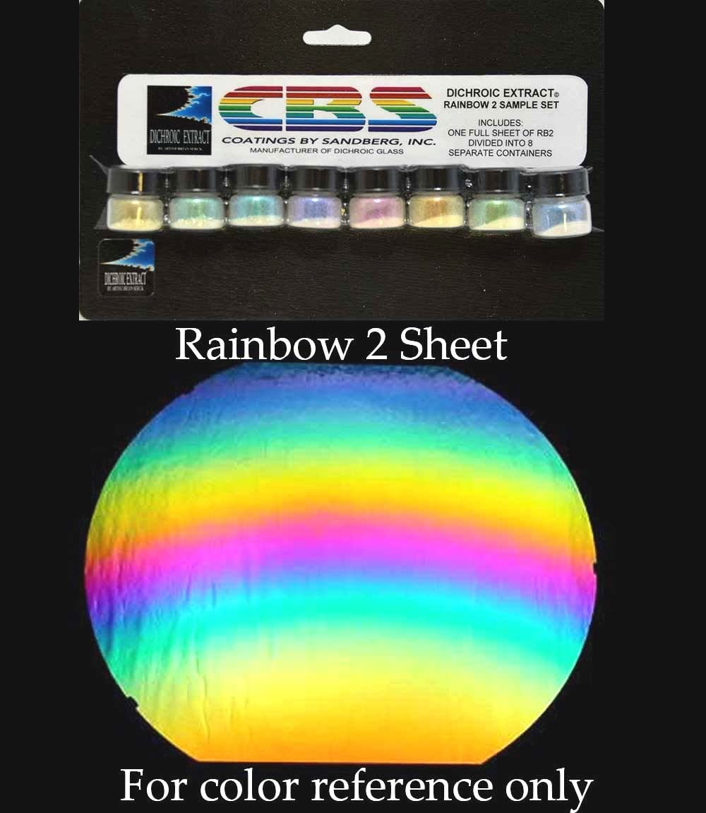 CBS Dichroic Extract Color Sample Set