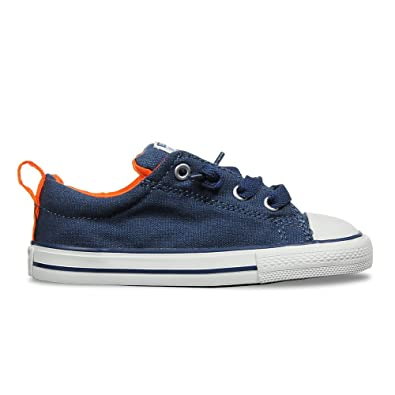 e8ce444879fc67 Amazon.com  Converse Kids  Chuck Taylor All Star Street Slip (Infant Toddler)   Shoes