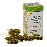 HUILE DE CHANVRE 1000mg, rapport optimal omega-6/omega-3 : 3/1, 40 capsules