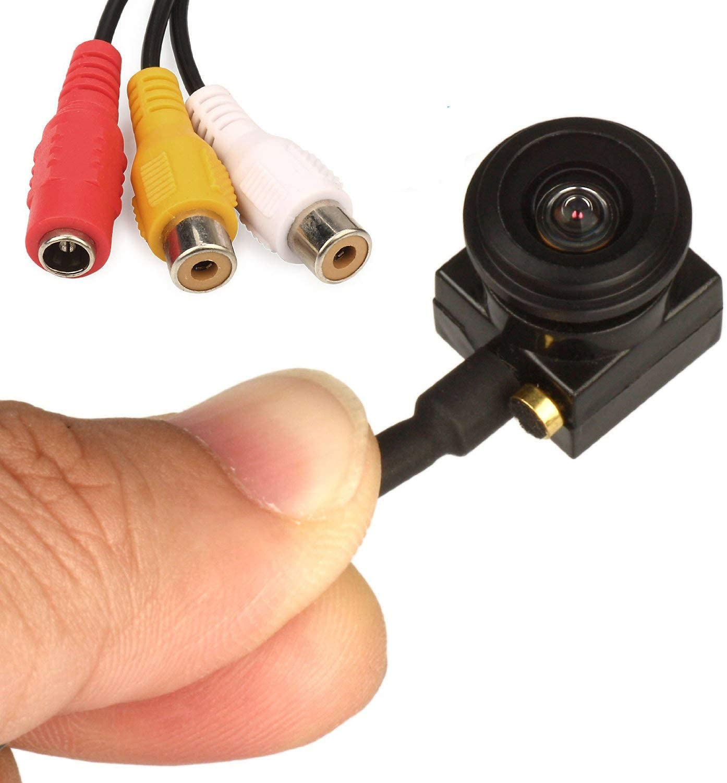 10pcs Mini spy hidden Pinhole camera 800tvl CMOS CCTV security HD video cam box