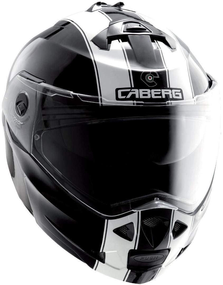 Gr/ö/ße XS 53//54cm Caberg Klapphelm Duke Schwarz Metallic Motorrad 30860030