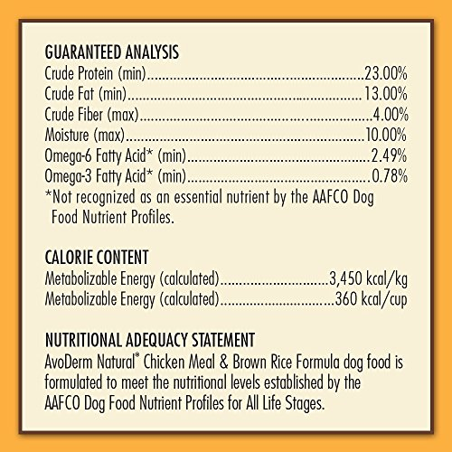 AvoDerm Natural Dry & Wet Dog Food, For Skin & Coat, Chicken & Rice Formula by AvoDerm (Image #7)