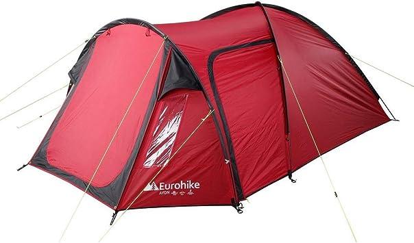 Eurohike Avon Tienda de campaña Camping Gear Rojo