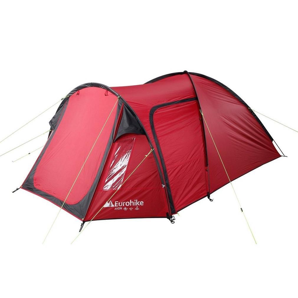 Eurohike Avon Deluxe-Zelt, Rot, Einheitsgröße