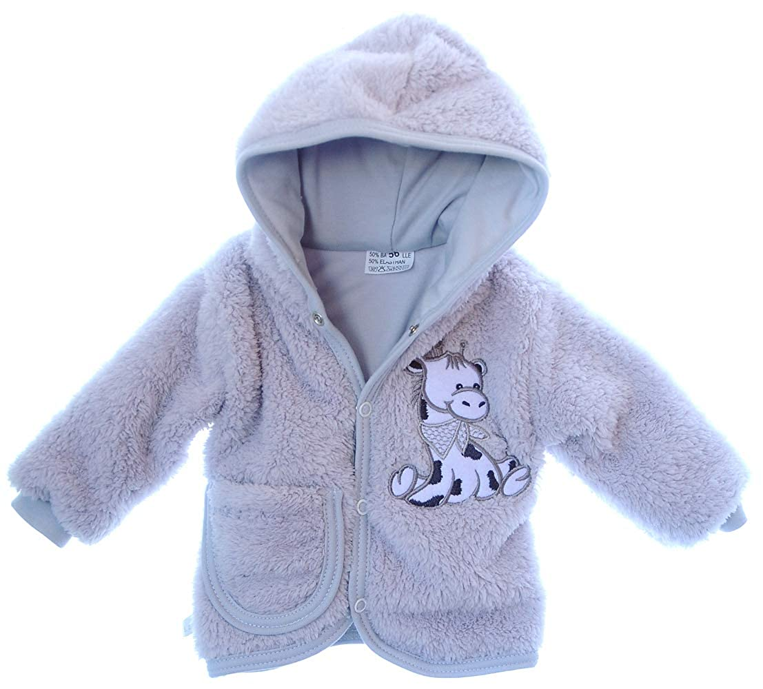 La Bortini Jacke Baby Jackchen Pulli Kapuze 50 56 62 68 74 80 86 92
