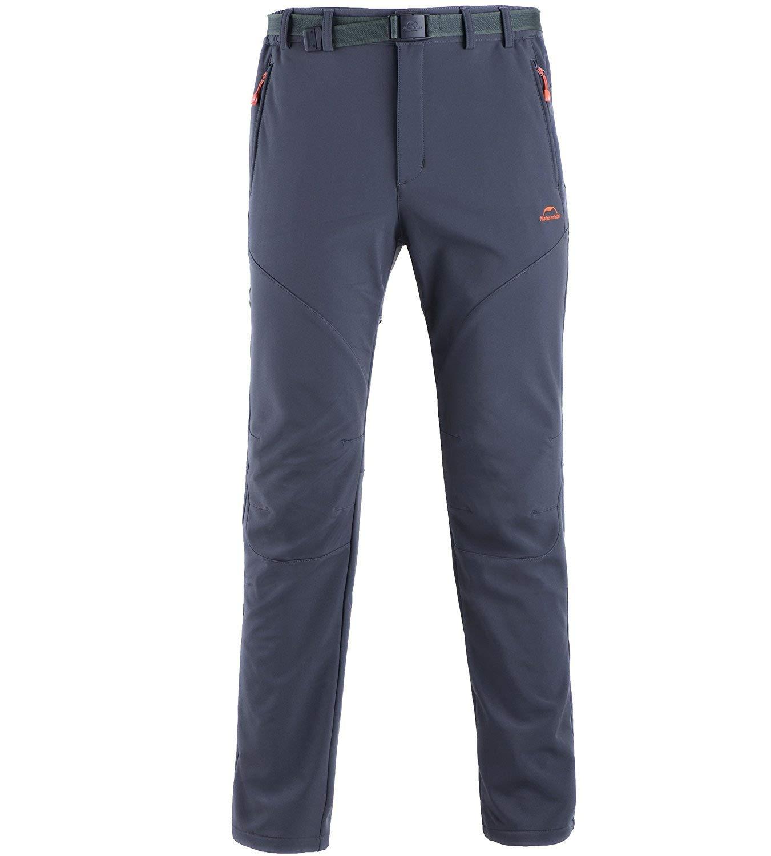 Naturehike Mens Waterproof Trousers Winter Warm Trousers Sport Pants