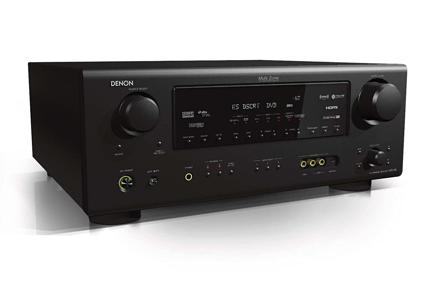 Amazon.com: Denon AVR-788 Dolby Digital Surround Receiver (Discontinued by  Manufacturer): Home Audio & Theater