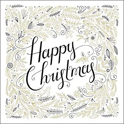 Pack of 5 Happy Christmas Princes Trust Charity Christmas Cards Card Packs: Amazon.es: Oficina y papelería
