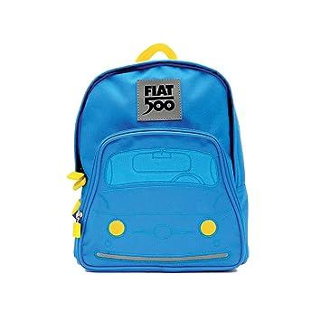 8e09a93e6a Fiat 500 Zainetto Bambino, Blu: Amazon.it: Valigeria