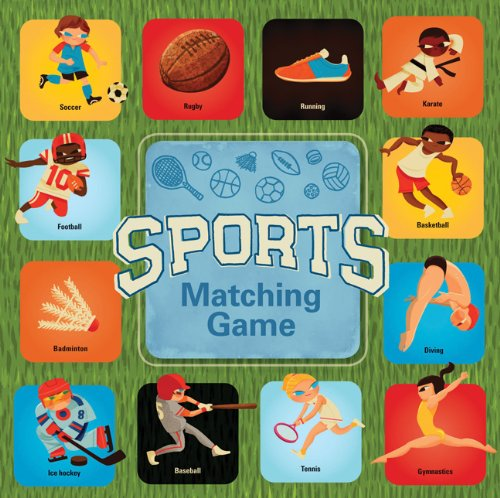 Chronicle Books Sports Matching Game