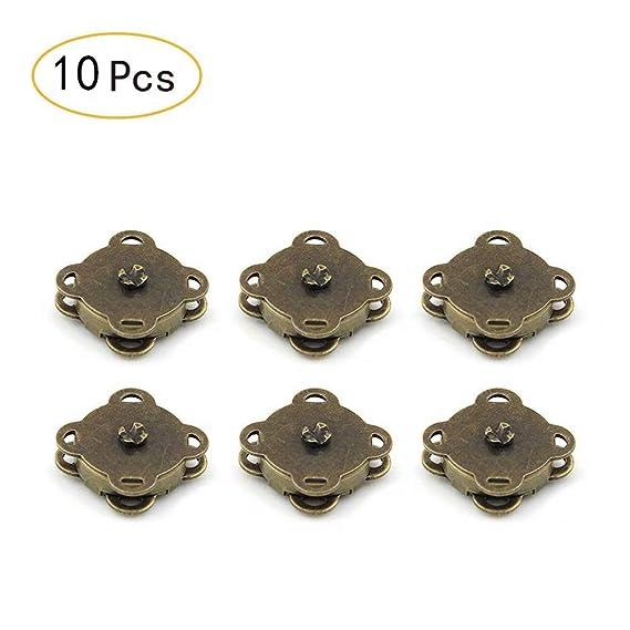 10 peke?o juegos de coser en bolsa magnética broches 19 mm-reat para costura, manualidades, ropa, bolso, Scrapbooking, y más