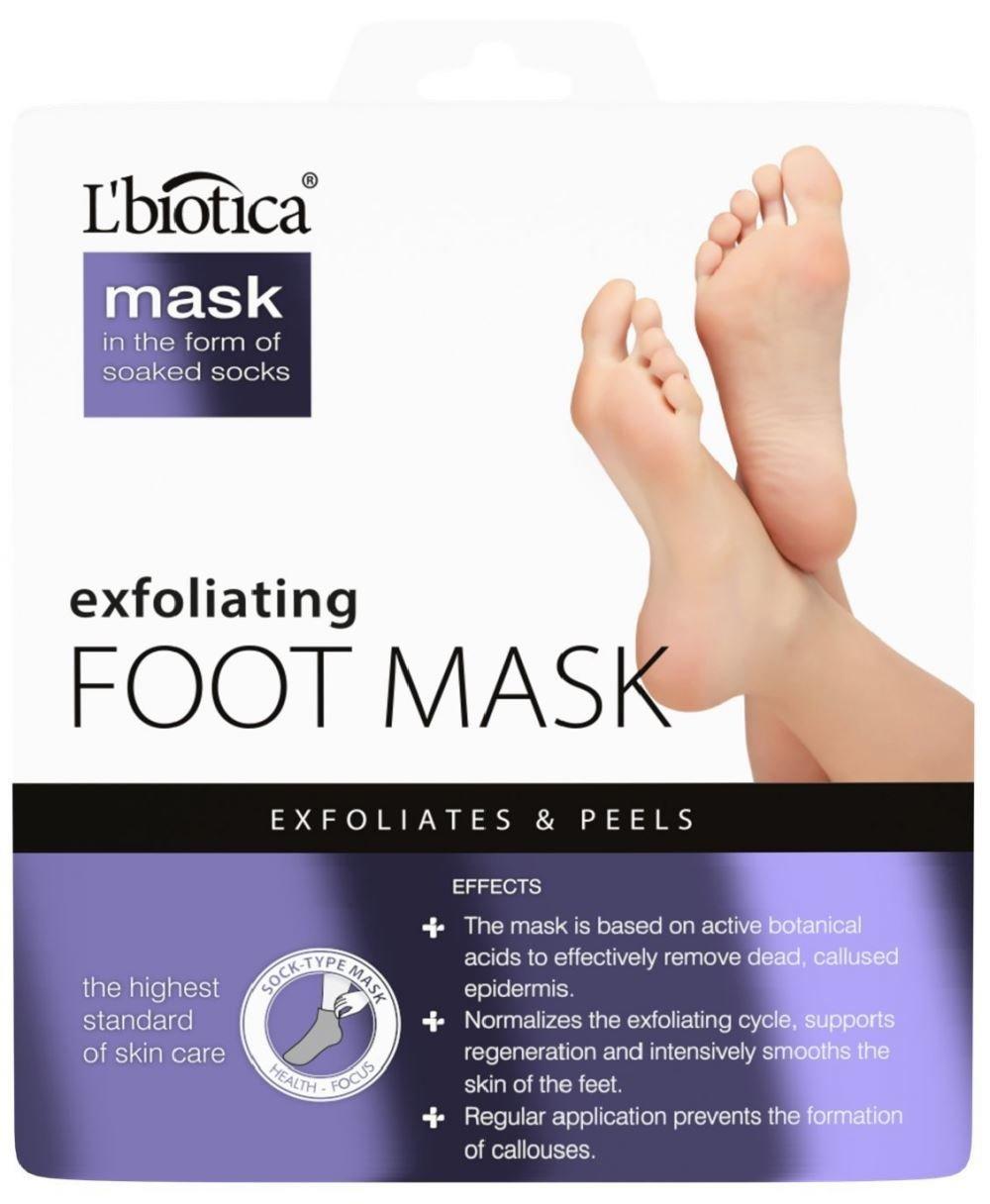L'biotica Exfoliating Peel Foot Sock Mask 40ml L' biotica
