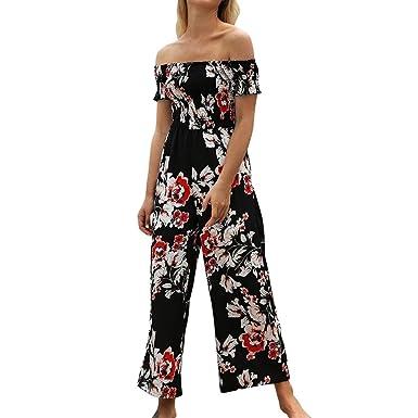 0ab225126c80 Amazon.com  Sunyastor Women s Jumpsuit