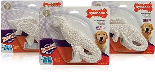 3-Pack-Nylabone-Durable-Dental-Dinosaur-Chew-Toy