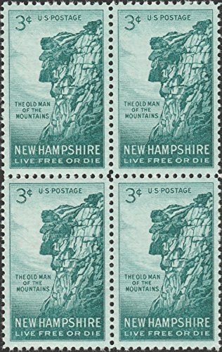 Amazon.com: Old Man Of The Mountains New Hampshire Scott #1068 ...