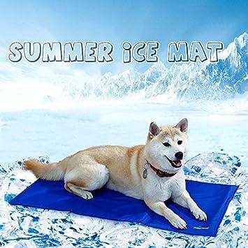Pawz Road Alfombrilla de refrigeración Cojín refrigeración techo frío extremo cama para perros Perros Colchón grandes