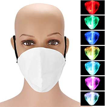 maschera antipolvere led