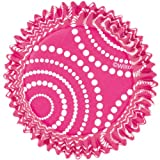 Wilton ColorCups Pink Circle Dots Standard Baking Cups, 36-Count