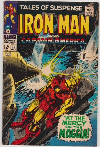 Tales of Suspense #99 Iron Man and Captain America Marvel Silver Age