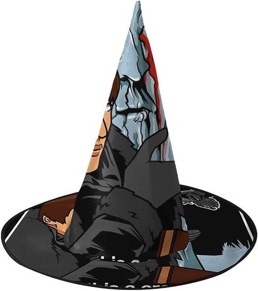NUJIFGYTCRD - BRAN Stark es un Sombrero de Bruja de Cuervo, Unisex ...