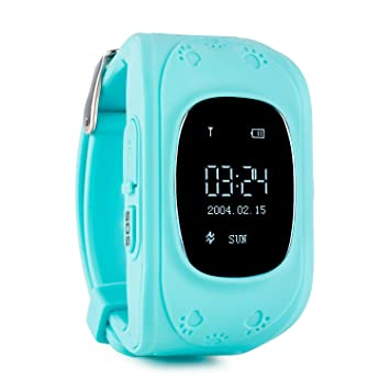 oneConcept Kids Guard reloj infantil GPS tracking digital SOS (Localizador niños, tracker, teléfono