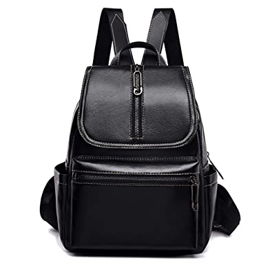 bc68cf480bf5 DOLDOA Sale Clearance for Ladies Backpack Vintage Girl Faux Leather School Bag  Rucksack Women Multi-