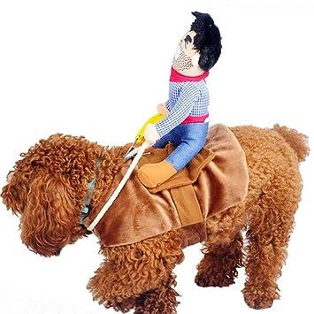 Amazon.com: iSmarten - Disfraz de perro de vaca para perros ...