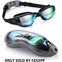 Swim Goggles Swimming Goggles No Leaking Anti Fog UV Protection Triathlon Swim Goggles with Free Protection Case for…