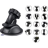 OctinPris Dash Camera Suction Cup Mount Dashcam Mounts Holder with 13 Ball Joints Adapter for Vehicle Video Recorder Windshield & Dashboard for Yi Dash Car DVR Camera GPS