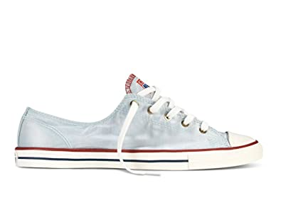 3b2b1b0bdd35 Image Unavailable. Image not available for. Color  Converse Chuck Taylor  All Star Fancy Lo Top Fountain Blue