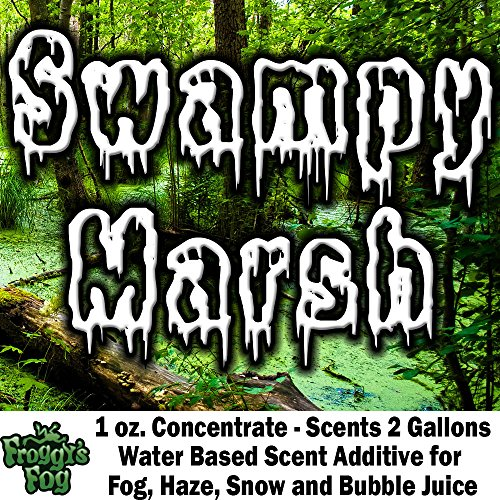 1 oz. SWAMPY MARSH - Water Based Scent Additive for Fog, Haze, Snow & Bubble Juice - Scents 2 Gallons]()
