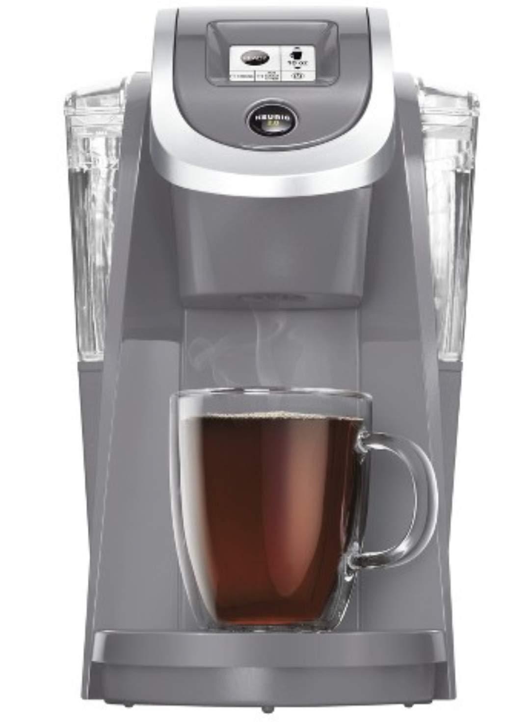 Keurig HOT Plus Series K200 Brewer, Plum Grey by Keurig (Image #1)