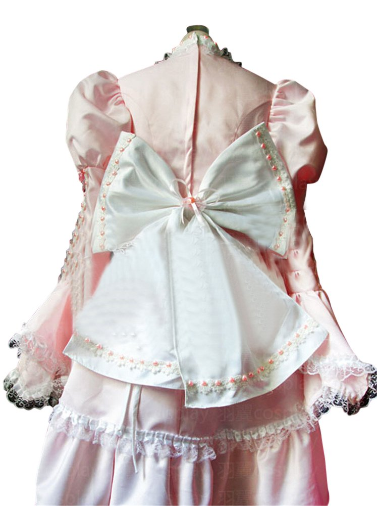 Mtxc Women's Sweet Love Lolita Cosplay Costume Gothic Size X-Large Pink by Mtxc (Image #3)