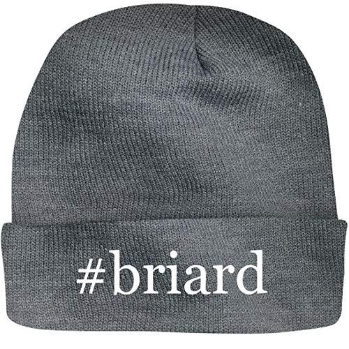 - Shirt Me Up #Briard - A Nice Hashtag Beanie Cap, Grey, OSFA