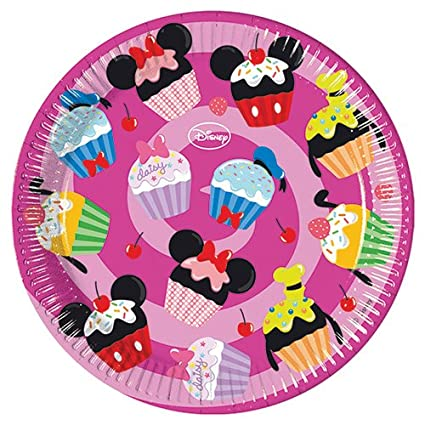 Amazon.com: 8 Disney Minnie Mouse dulces rosa fiesta grande ...