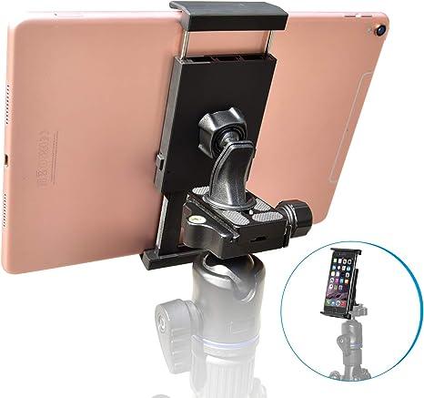 Metall Tablet Stativ Adapter Halterung mit 1//4 Zoll Gewinde für iPad Mini //