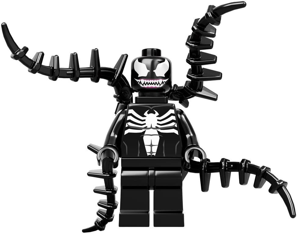 LEGO Super Heroes Spider-Man Minifigure - Venom with Black Spines (76004)
