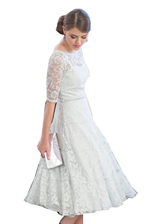 tea length mother of bride dresses