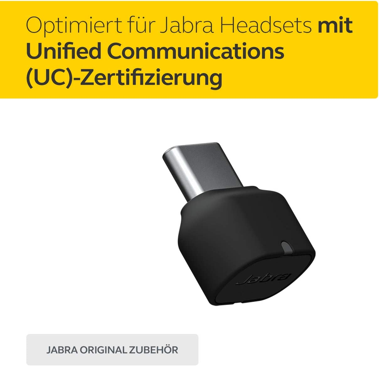 Jabra Link 380c Uc Usb C Bluetooth Adapter Wireless Dongle For Evolve2 85 And 65 Headsets Elektronik