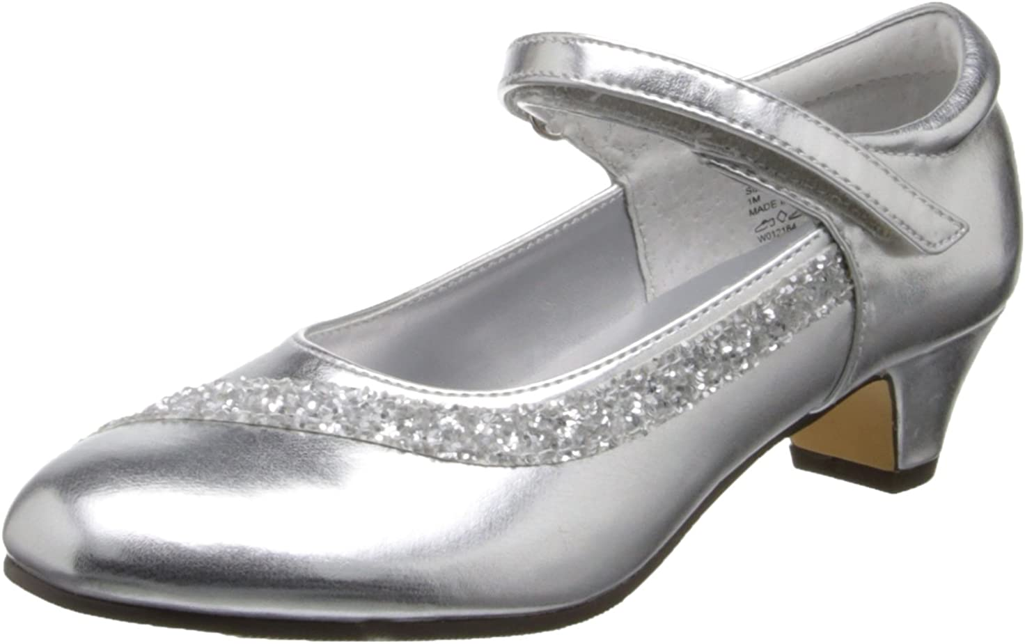 K Shimmer Little Kid//Big Kid Jumping Jacks Shimmer Dress Sandal
