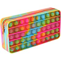 Push Bubble Potlood Bag, Potlood Case Bubble Toy Sensory Toy Briefpapier Box Make-up Organizer Bag Draagbaar voor School…