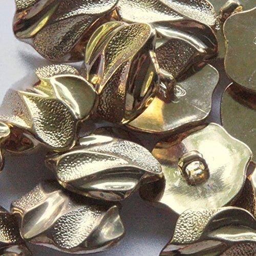 Gold Swirl Button - 6