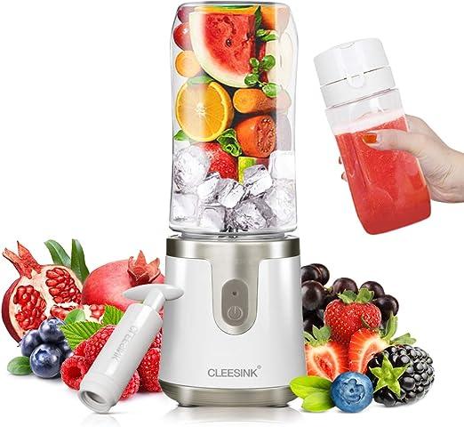 CLEESINK Aspiradora de licuadora portátil para hielo y frutas ...