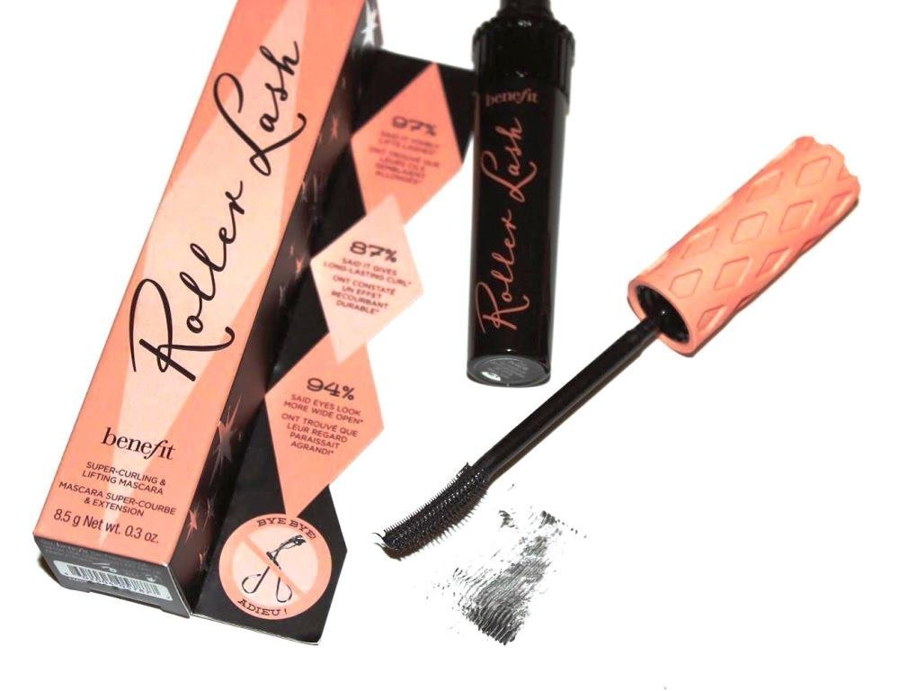 e7486761901 Amazon.com : Benefit Cosmetics Roller Lash Mascara .30 Ounce (Full Size) :  Beauty