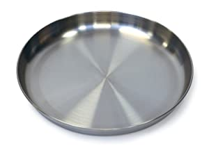 Stansport Stainless Steel Plate, 9-Inch