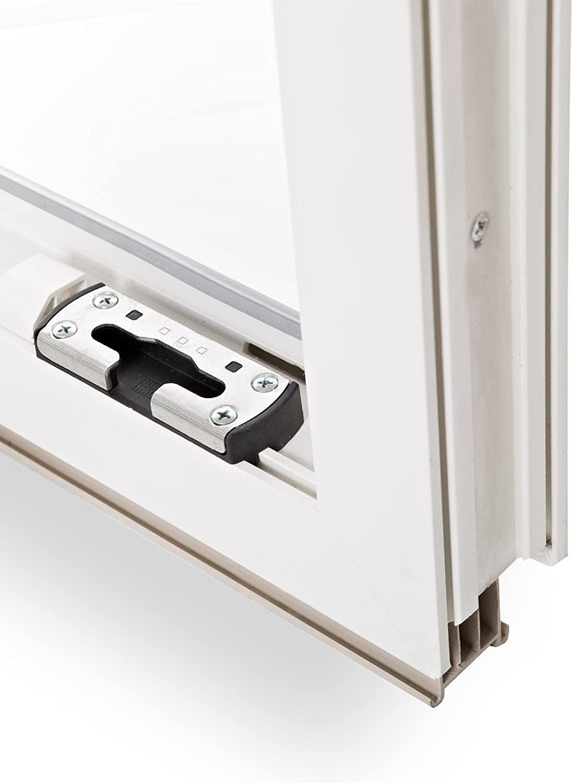 Kellerfenster Kunststoff Fenster Dreh Kipp 120 x 50 cm 1200 x 500 mm Winkhaus Beschlag Isolierglas DIN Links