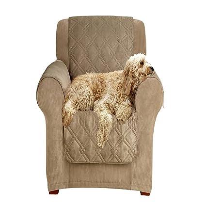 Amazon.com: Sleeper Sofa Slipcover 2 Cushion for Pets, Recliner ...