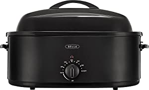 Sensio 14581 24 lb Turkey Roaster Oven, Black